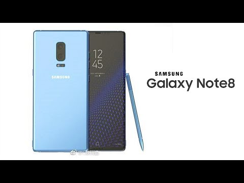 Galaxy Note 8 - Release Date and Dual Camera