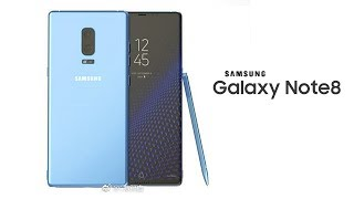 Galaxy Note 8 Release Date and Dual Camera