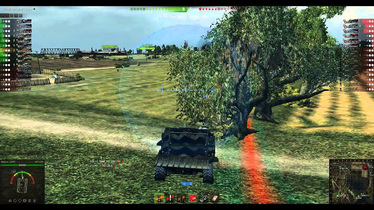 World Of Tanks Arty Mod Full Replay #4 - YouTube