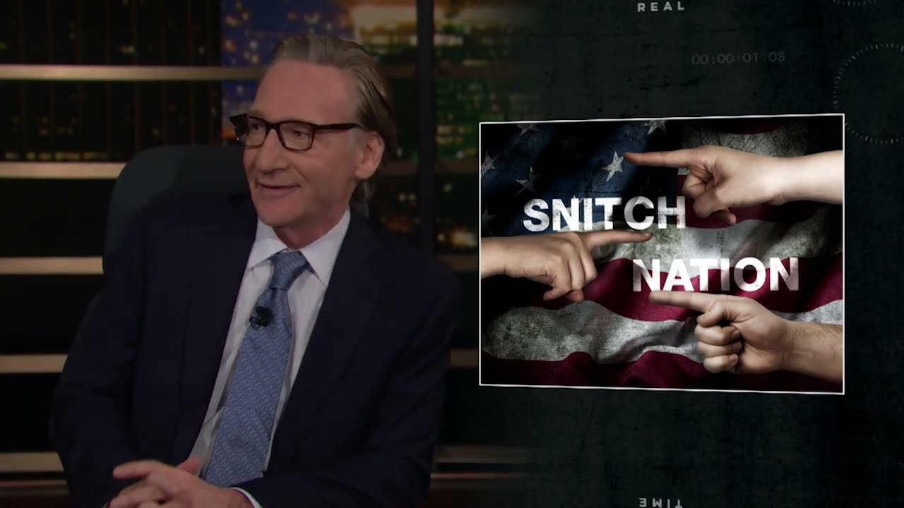 Download New Rule: Snitch Nation | Real Time with Bill Maher (HBO)
