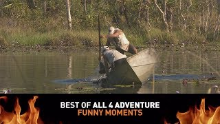 Best of All 4 Adventure: Funny Moments ► All 4 Adventure TV