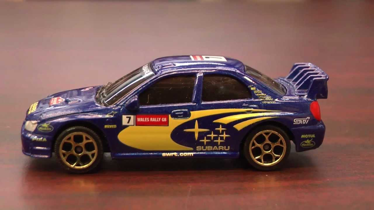 CGR Garage - SUBARU IMPREZA WRC Majorette car review - YouTube