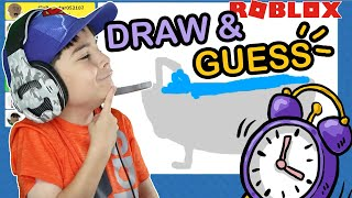 Can You Guess It? Gamer Kid Plays DRAW IT at Roblox