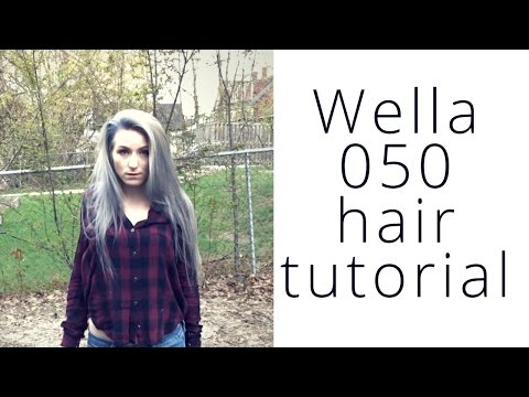 Gray Hair? WHY? Wella 050 tutorial