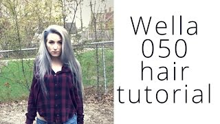 gray hair why wella 050 tutorial