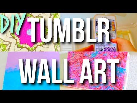 DIY Tumblr Wall Art