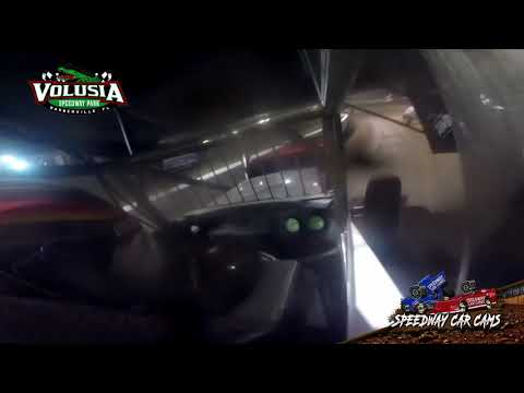 #41 David Gravel - 410 Sprint - 2-19 Volusia Speedway Park - In Car Camera
