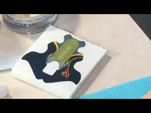 Наращивание ногтей гелем-желе.  Белый френч. Татьяна Макарова