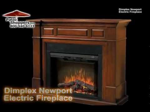 Dimplex SEP BW 600 BG FB Newport Indoor Electric Fireplace. PatioShoppers