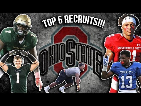 Did OSU Find The Next Ezekiel Elliot!?!- Ohio State's Top 5 Recruits 2017-2018