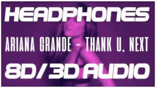 Gambar cover Ariana Grande - Thank U, Next (8D AUDIO & 3D AUDIO) 😍🎧