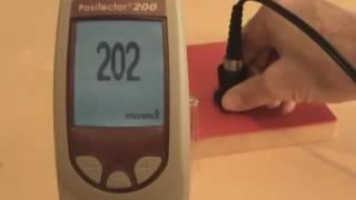 Смотреть видео Ультразвуковой толщиномер покрытий PosiTector