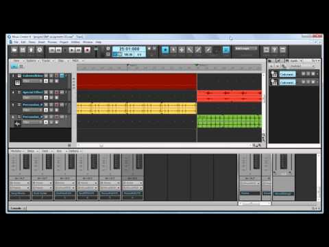 Intro to Music Production- Cakewalk Music Creator 6 Plain- automations