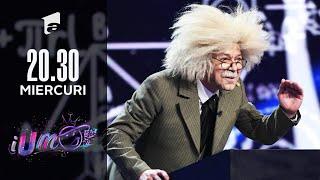 iUmor 2021 | Albert Einstein, roast istoric pe scena iUmor! Ce a spus despre Delia și Cheloo