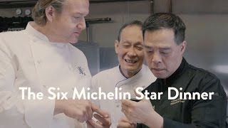 The Six Michelin Star Dinner   Food & Wine