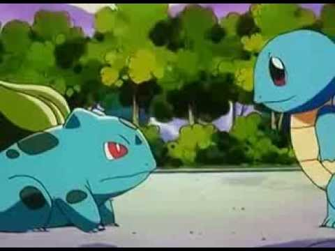 Pokemon - Squirtle says goodbye to Bulbasaur