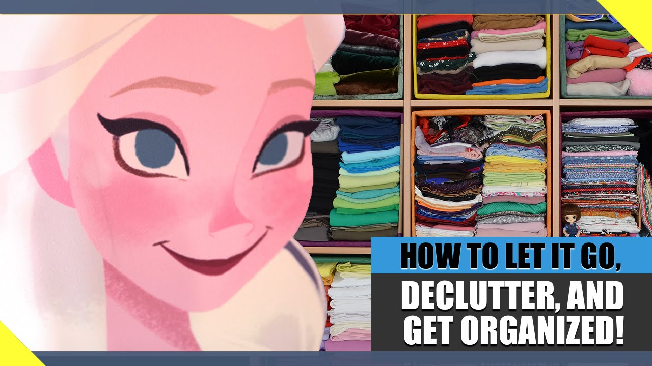 LET IT GO: 8 SIMPLE Ideas to Declutter & Organize Your Life!