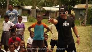 RWC 7S Draw & a coaching session with Waisale Serevi & Ben Gollings - Total Rugby