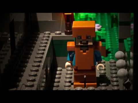 LEGO® Minecraft™ - The Jungle Temple - Stop motion - Short version