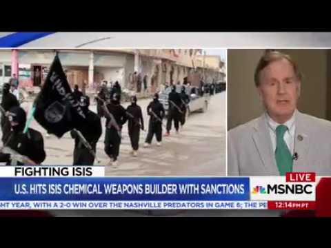Congressman Robert Pittenger On MSNBC Discussing Democrat Legal Challenges