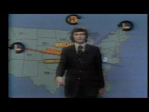 David Letterman on WTHR (then WLWI)