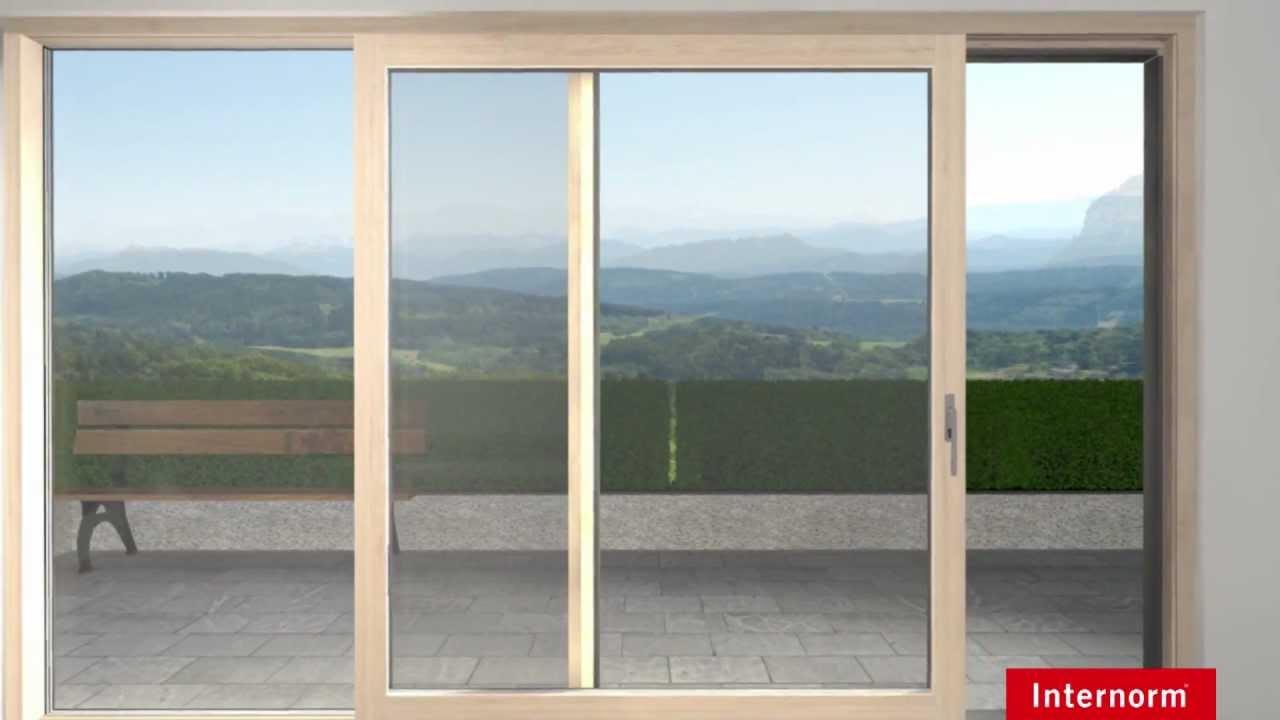 die neue hebeschiebet r hs 330 von internorm youtube. Black Bedroom Furniture Sets. Home Design Ideas