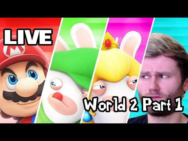 Mario & Rabbids: Toad got lost again - World 2 Part 1