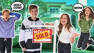 I Bought a 12 MILLION Dollar TikTok HYPE HOUSE **MY CRUSH REACTS**