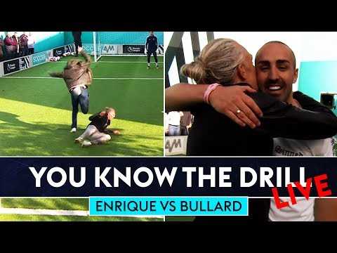 How to defend against Messi & Ronaldo | Jimmy Bullard v José Enrique | 1on1 Challenge | SLH x YKTD