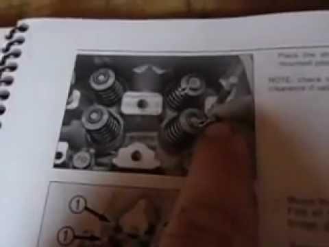 05 ktm 250 sxf valve adjustment - youtube