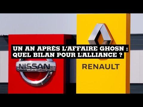 Un an après l'affaire Ghosn, quel bilan pour l'alliance Renault-Nissan-Mitsubishi?