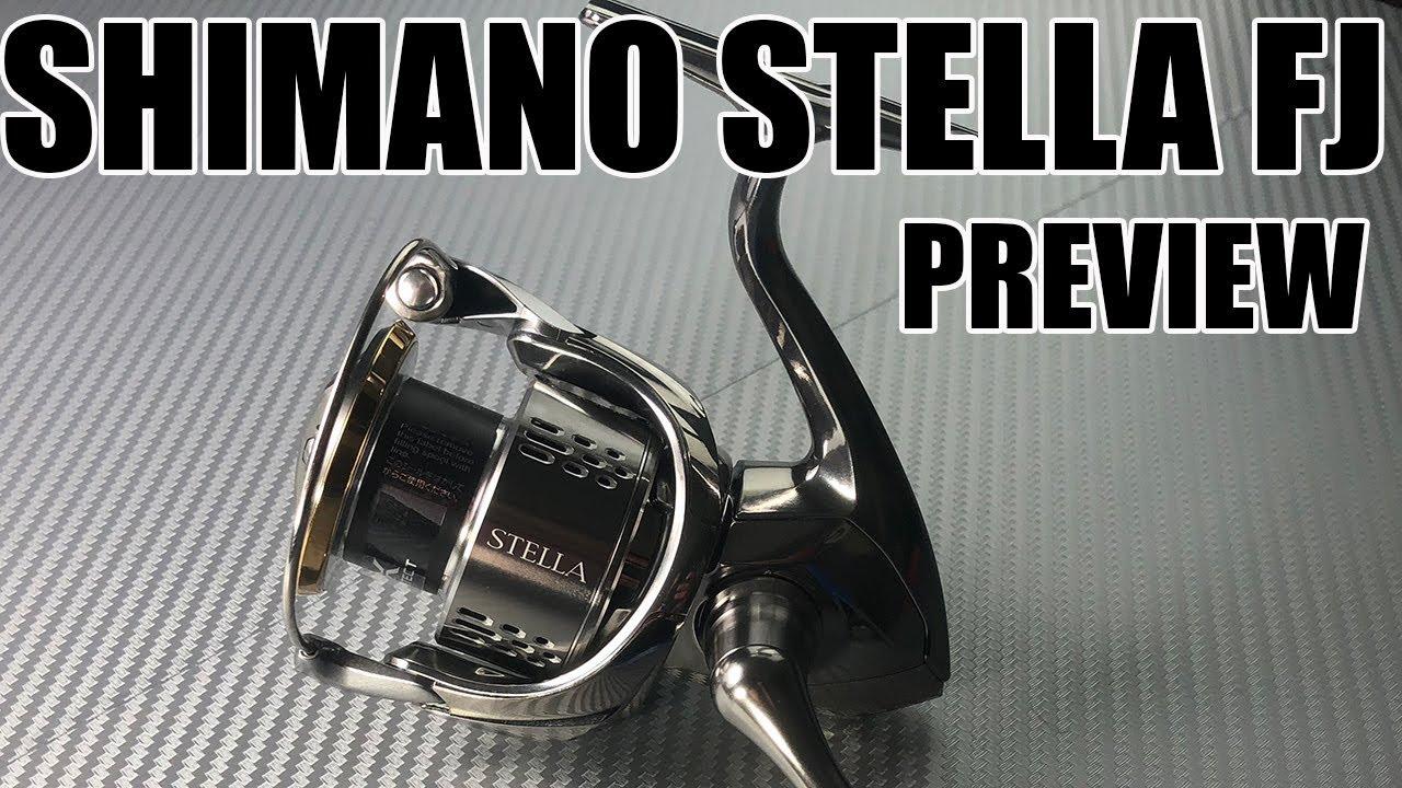 SHIMANO STELLA FJ - prime impressioni