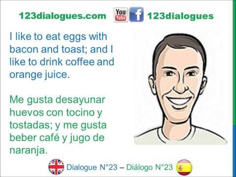 How to say take breakfast in spanish
