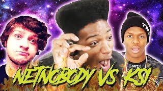 ETIKA REACTS TO KSI - ADAM'S APPLE AND NETNOBODY - BEND THE KNEE