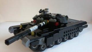 Т-90 з lego. Tutorial