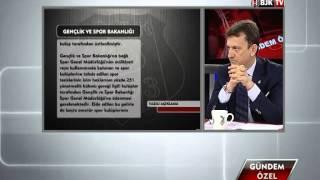 Metin Albayrak BJK TV'nin Stüdyo Konuğu Oldu - Bölüm 1