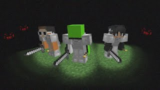 Minecraft, But It's Pitch Black...
