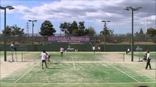 H24ソフトテニス全日本社会人 準決勝 篠原・小林vs菅野・柴田