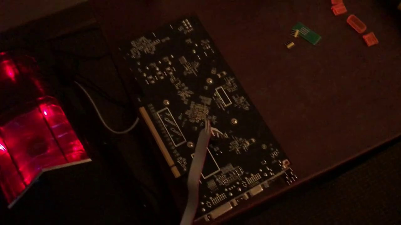 Hardware bios flashing a fake GTX 1050 2 GB to a GTX 650 ti 1 GB