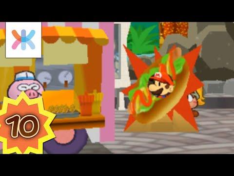 Paper Mario : La porte millénaire #10 - Super Gonzales le Hot Dog