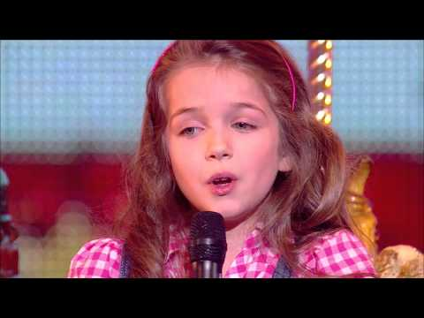 "Erza, 8 years old, sings ""La vie en rose"" by Edith Piaf - Final 2014 - France's Got Talent 2014"