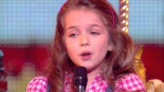 "Erza, 8 years old, sings ""La vie en rose"" by Edith Piaf - Final 2014 - France"
