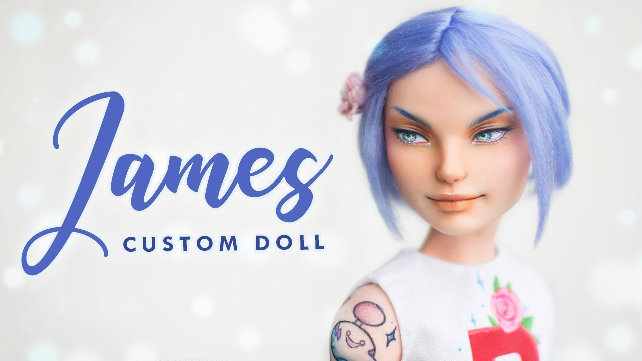 Team Rocket James / Kojiro • Ever After High OOAK Custom Doll Tutorial