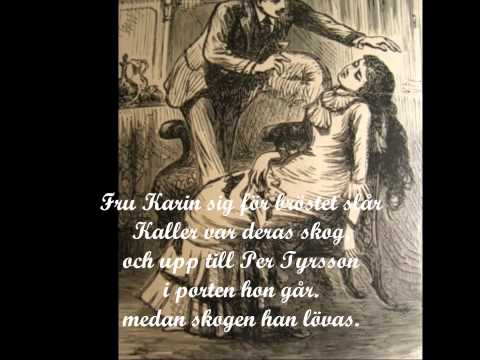 Per Tyrssons döttrar i Vänge, falconer lyrics