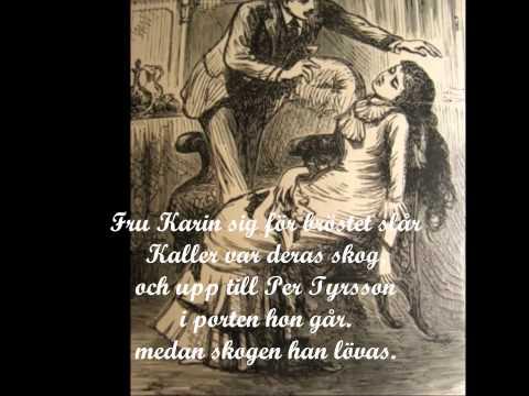 Per Tyrssons döttrar i Vänge, falconer lyrics