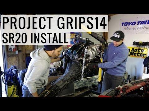 SR20DET Engine Swap Install - Project GripS14