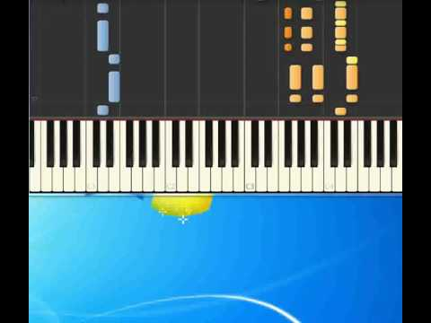 Against the wind   Seger Bob [Piano tutorial by Synthesia]