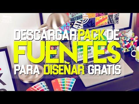 PACK DE FUENTES PARA DISEÑAR (GRATIS) | MEGA PACK | [MEGA/MEDIAFIRE]-2017