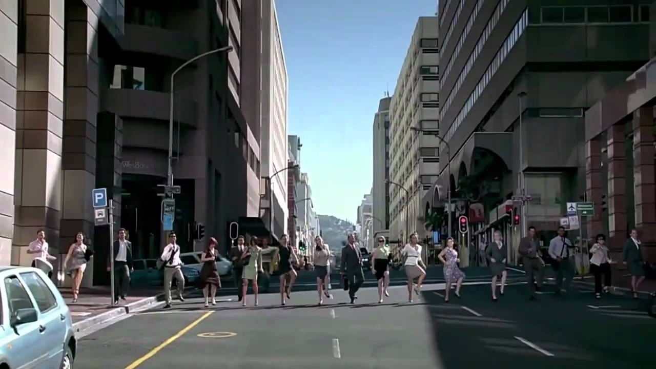 GE Ecomagination Line Dance Commercial HD - NEW!!
