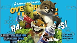 Cara Download Game Over The Hedge Hammy Goes Nuts PPSSPP Android